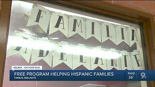 Free education program helping Hispanic families