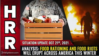 ANALYSIS Food rationing to be announced in America