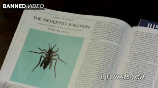 Alex Jones Exposes Genetically Modified Mosquitoes Created to Forcefully Inoculate the Population
