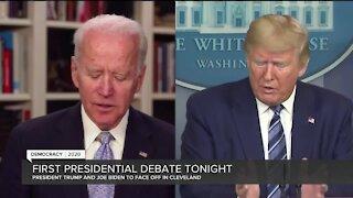 First presidential debate Tuesday night