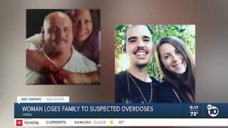 Woman loses family to suspected overdoses