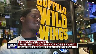 Fans react to death of Kobe Bryant