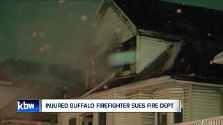 Injured firefighter sues Buffalo Fire Department