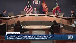 Board of Supervisors approves audit