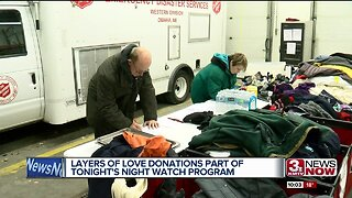 Salvation Army Layers of Love donations hit the streets