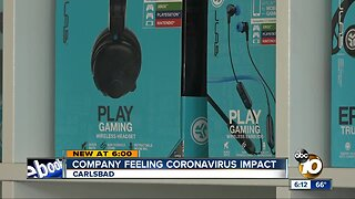 Carlsbad company feeling coronavirus impact