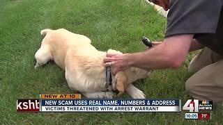 Scam going around JoCo involves fake warrants