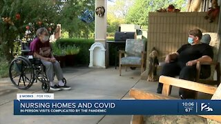 Nursing home allows families to feel a little closer during pandemic