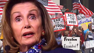 Huge BACKLASH Against Pelosi and CDC Mask Mandate!!!