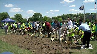 NorthStar lacrosse program breaks ground on new field