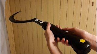 Making wooden Khal Drogo's scythe _Arakh_ from Game of Thrones!