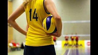 Volleyball: una difesa incredibile!
