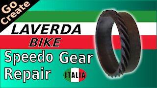 Laverda Classic Bike - Speedo Gear Repair