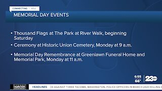 Memorial Day Weekend events happening locally
