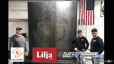 America's Wall of Honor Begins the Powder Coating Phase