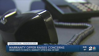 2 Works for You viewer raises concerns about warranty offer letter