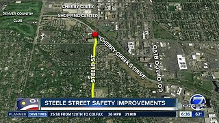 Steele Street safety improvements