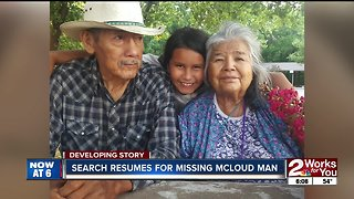 Search for missing man in Mayes county continues
