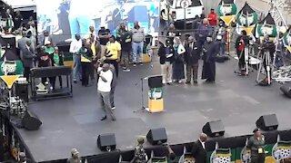 SOUTH AFRICA - Johannesburg - ANC CBD celebrations (videos) (Zp8)