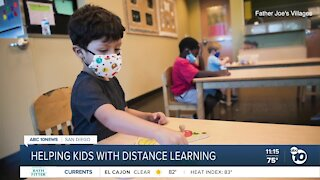 Helping kids with distance learning