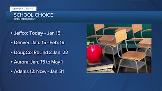 Open enrollment: Jeffco opens School Choice today