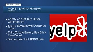 Money Saving Monday: Yelp freebies