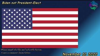 Biden not President-Elect