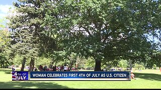 Boise woman celebrates first 4th of July as U.S. citizen