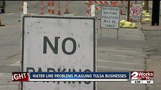 Water line problems plaguing Tulsa businesses