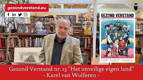 Karel van Wolferen leest voor uit GV nummer 13: Het onveilige eigen land