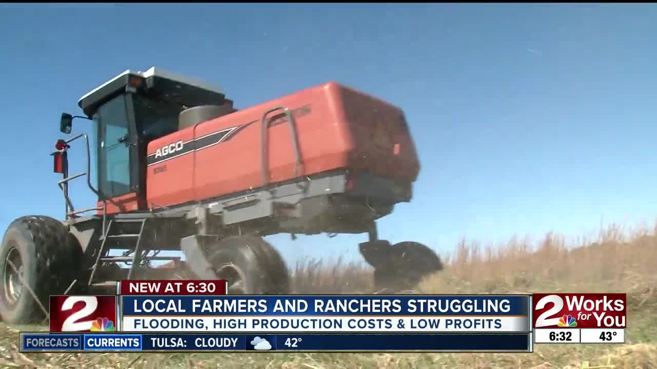 Local farmers and ranchers struggling