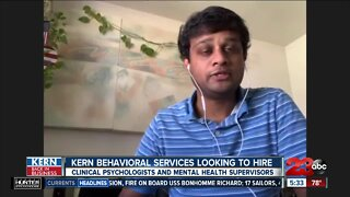 Kern Back in Business: Mental health jobs available