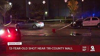 13-year-old shot near Tri-County Mall