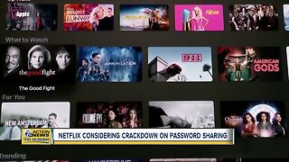 Netflix considering crackdown on password sharing