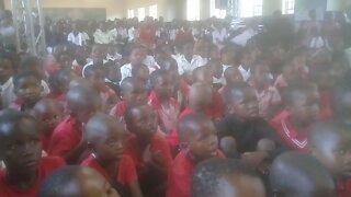 SOUTH AFRICA - Durban - Eskom visits Mceleni Primary School (Videos) (Jtp)