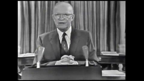 "Pres. Dwight D. Eisenhower ""Military-Industrial Complex"" Speech Origins | The Washington Pundit"