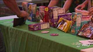 Local Girl Scout cookie sales start today