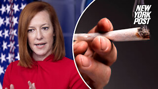 Jen Psaki says White House fired 'only five' aides for past marijuana use