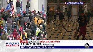 Protesters breach U.S. Capitol building