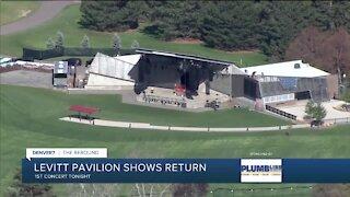Levitt Pavilion starts live, in-person concerts