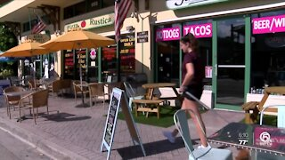Delray Beach businesses struggling from COVID-19 pandemic