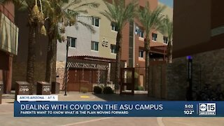 Dealing with COVID on ASU campus