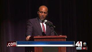 Mayor Quinton Lucas speaks on pardoning marijuana convictions