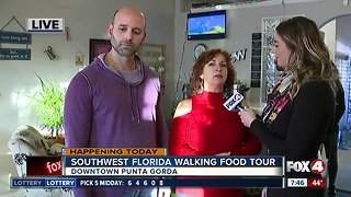 Try five local restaurants during a food tour in Punta Gorda
