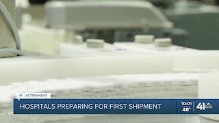 Kansas City-area hospitals prepare to administer COVID-19 vaccine to staff