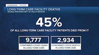 Long-term care facilities allow visitors