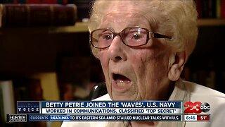 A Veteran's Voice: Betty Petrie
