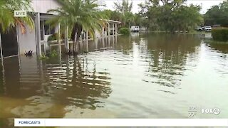 Sanibel businesses dealing with significant flooding