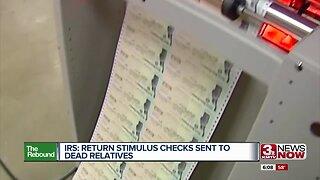 IRS: Return stimulus checks sent to dead relatives