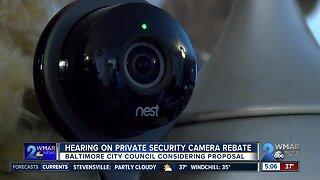 Baltimore City Council considering rebate program for security cameras